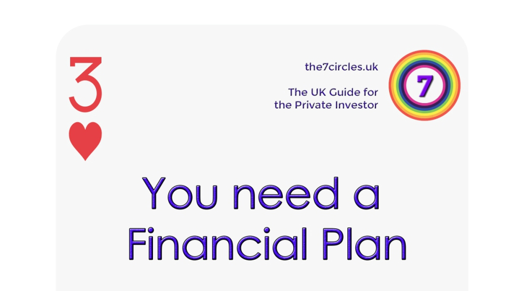 You need a Financial Plan