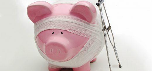 Company pension deficits
