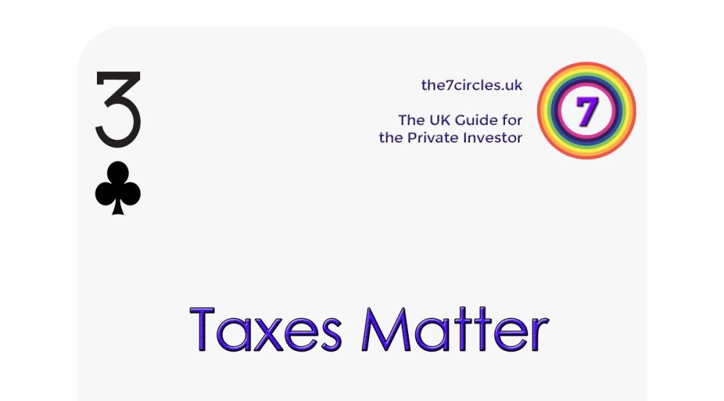 Taxes matter