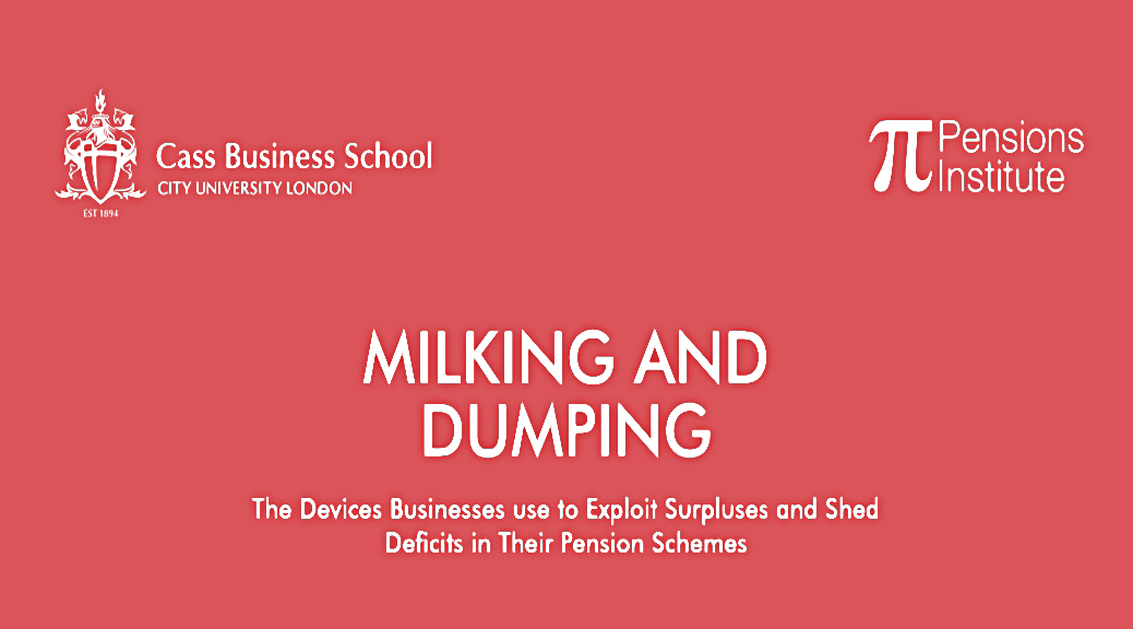 Milking and dumping