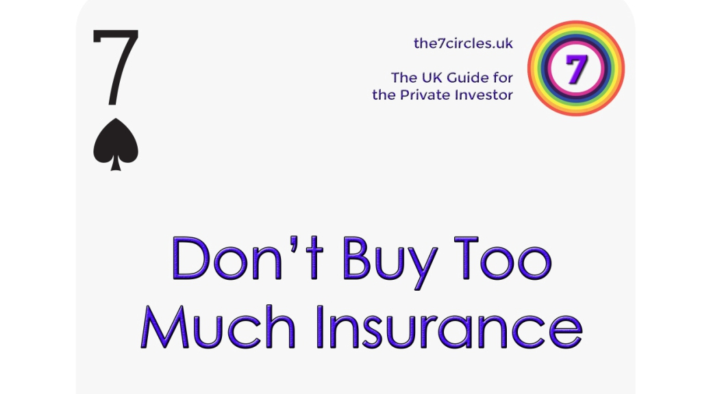 Don't Buy Too Much Insurance