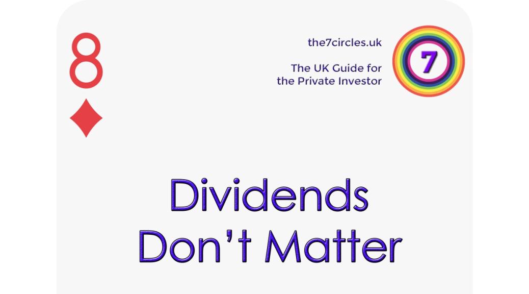 Dividends Don't Matter