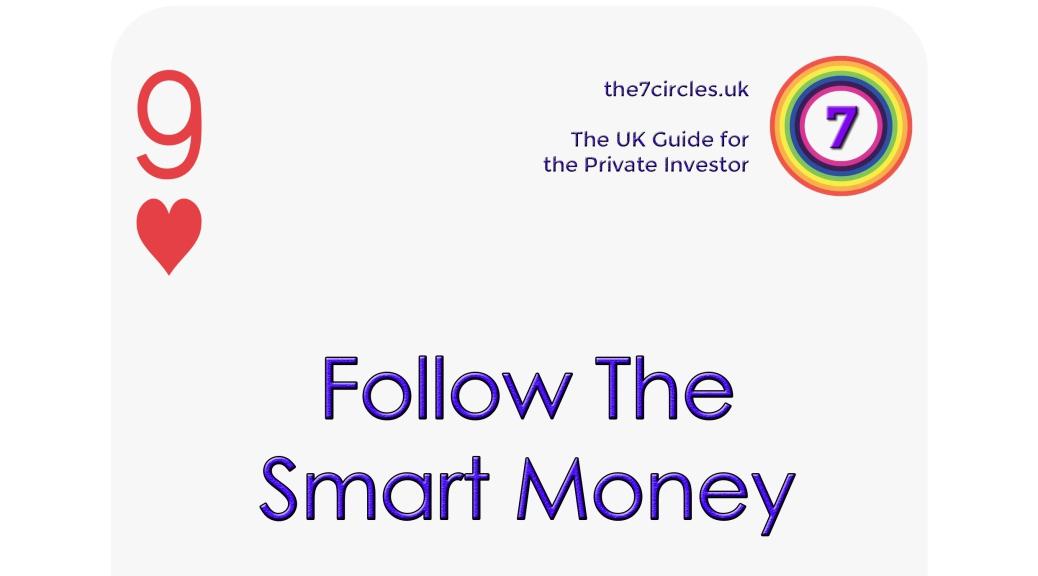 Follow the smart money