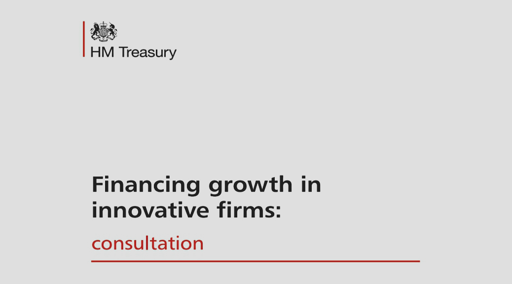 Financing Growth in Innovative Firms