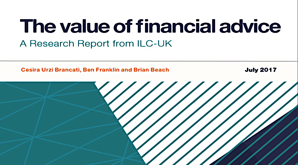 Value of Financial Advice
