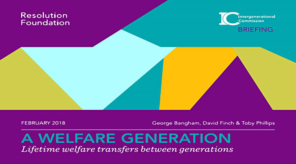 Welfare Generations