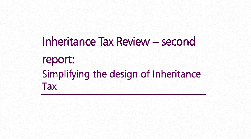 Inheritance Tax Review