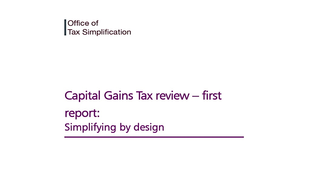 Capital Gains Tax review